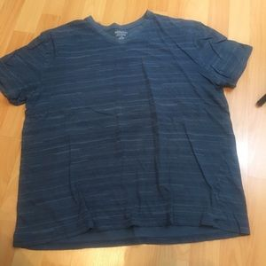 Dark Blue/Gray Tee L
